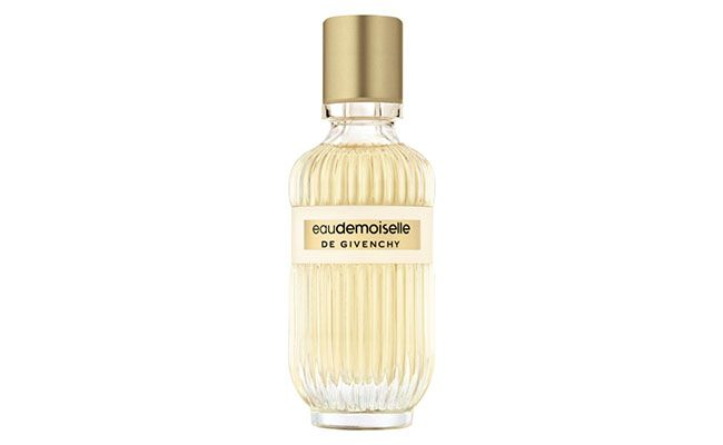 "Perfume Eaudemoiselle por R$279 na <a href=""http://www.sephora.com.br/givenchy/perfumes/feminino/eaudemoiselle-de-givenchy-feminino-eau-de-toilette-8739"" target=""blank_"">Sephora</a>"
