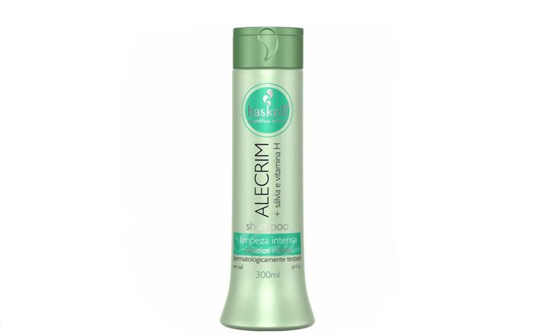 "Shampoo anti resíduos Haskellpor R$28,89 na <a href=""http://www.casanostracosmeticos.com.br/shampoo-haskell-alecrim-300ml.html"" target=""_blank"">Casa Nostra Cosméticos</a>"