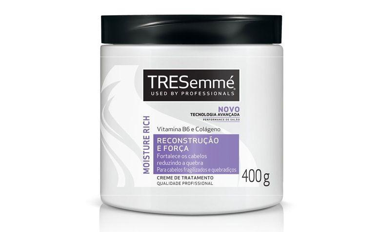 """Creme de tratamento TRESemmé por R$12,99 na <a href=""""http://www.lojasrede.com.br/produto/Creme-De-Tratamento-TRESemme-Reconstrucao-E-Forca-400ml-129593"""" target=""""_blank"""">Lojas Rede</a>"""