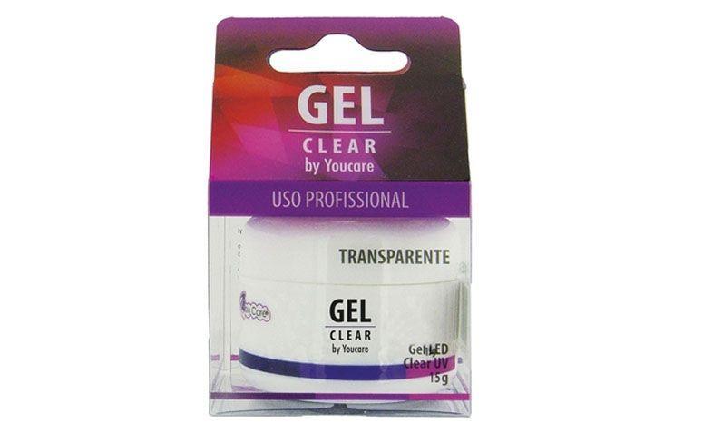 """Gel YouCare disponível nas cores transparente, rosa e branco por R$50,90 na <a href=""""http://www.nikkeycosmeticos.com.br/youcare-gel-clear-p11307/"""" target=""""_blank"""">Nikkey Cosméticos </a>"""