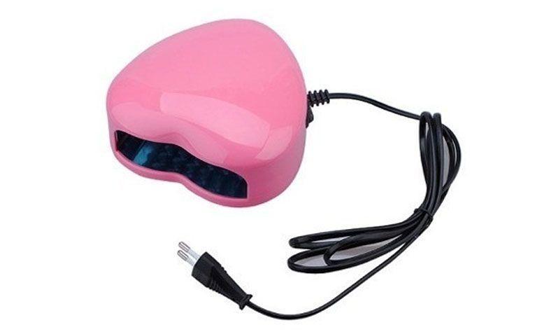 """Cabine de LED para unhas de gel por R$59,90 no <a href=""""http://produto.mercadolivre.com.br/MLB-677773322-cabine-estufa-forno-uv-unha-gel-led-220v-branca-ou-rosa-_JM"""" target=""""_blank"""">Mercado Livre</a>"""