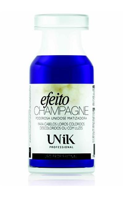 Efeito Champagne, da Unik, tira o amarelados dos fios | R$ 15.