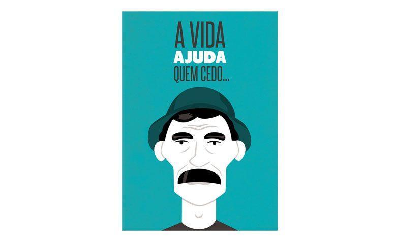 """Poster A vida ajuda (A3) por R$ 47,00 no <a href=""""http://www.meuadoraveliglu.com.br/a-vida-ajuda """" target=""""_blank"""">Meu adorável iglu</a>"""