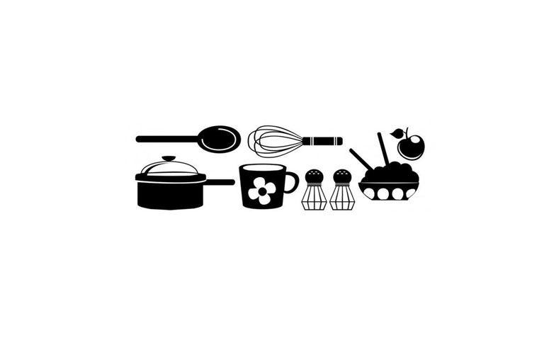 """Adesivo Amo Receitas! por R$21,90 na <a href=""""http://casalouca.com.br/cozinha/2026-adesivo-de-cozinha-amo-receitas.html"""" target=""""blank_"""">Casa Louca</a>"""
