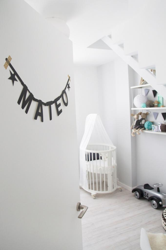 """Foto: Reprodução / <a href=""""http://www.macarenagea.com/2014/05/28/baby-nursery-scandinavian/"""" target=""""_blank"""">Macarena Gea</a>"""