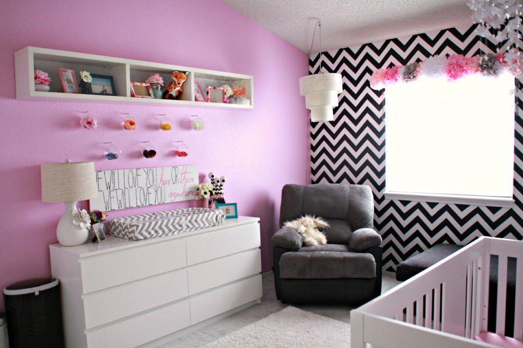Quarto de bebê fotos para inspirar e dicas de decoração ~ Quarto Rosa E Preto