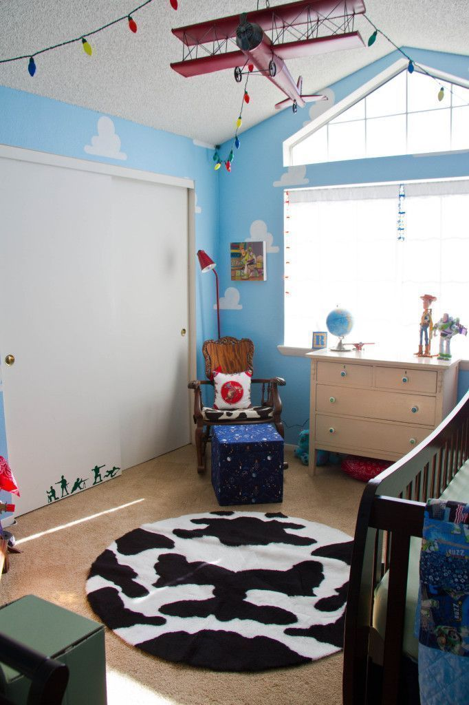 "Foto: Reprodução / <a href=""http://projectnursery.com/projects/toy-story-boys-room/"" target=""_blank"">Project Nursery</a>"