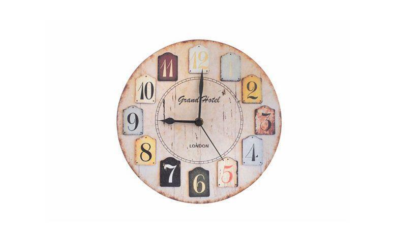 """Relógio de parede Grand Hotel por R$41,40 na <a href=""""https://www.meumoveldemadeira.com.br/produto/relogio-de-parede-grand-hotel"""" target=""""blank_"""">Meu Móvel de Madeira</a>"""
