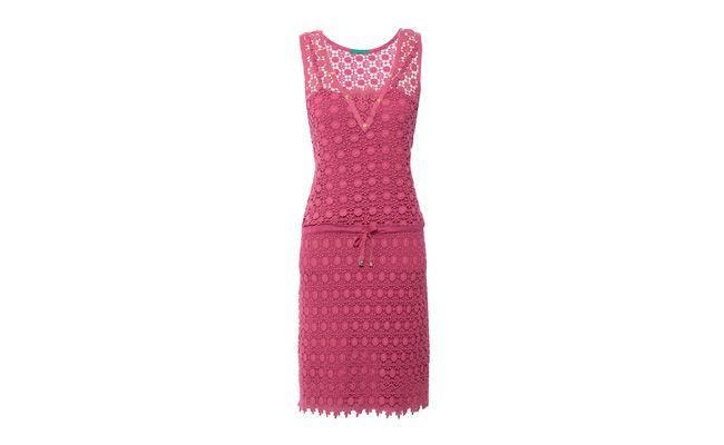 pink dress guipure lace untuk $ 348 dalam OQVestir