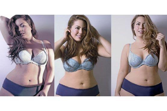 Modelo brasileira conhecida como a Gisele Bündchen do plus size.