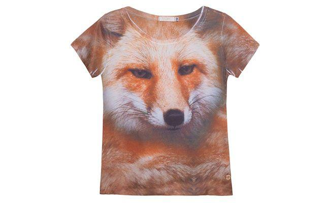 T-shirt animal face SPEZZATO TEEN por R$187 na Oqvestir