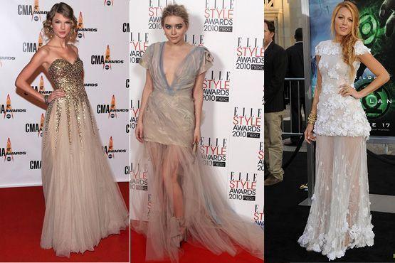 Até as celebridades entraram na moda da saia bailarina