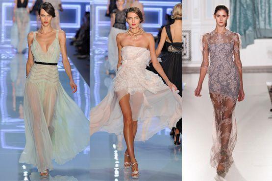 Modelos da Dior e Erdem