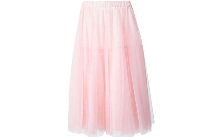 ضوء الوردي تنورة تول كتبها R $ 1310.00 في Farfetch