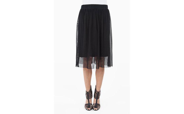 Soltinha تنورة من قماش رقيق شفاف لR $ 69.65 في Closeteria