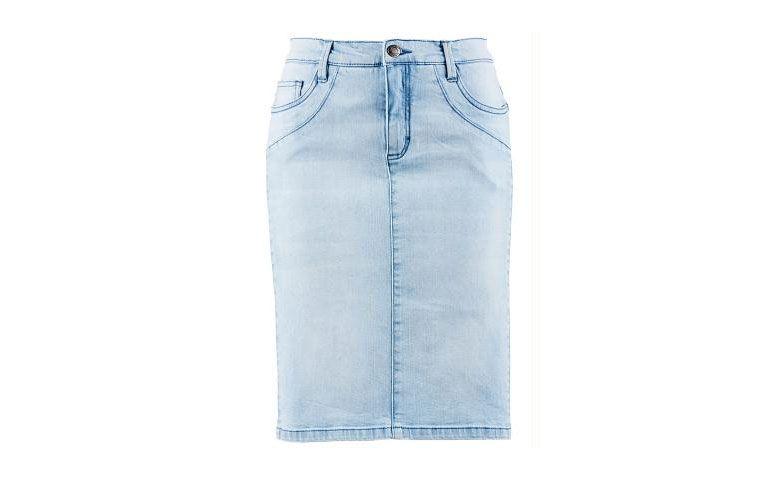 """Saia jeans média por R$ 24,90 na <a href=""""http://ad.zanox.com/ppc/?27713758C43009238&ULP=[[http://www.posthaus.com.br/moda/saia-jeans-efeito-magrinha-azul_art232562.html?PAC_ID=125109]]"""" rel=""""nofollow"""" target=""""_blank"""">Posthaus</a>"""