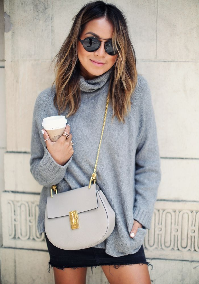 "Foto: Reprodução / <a href=""http://sincerelyjules.com/2015/06/how-to-style-a-denim-skirt.html  "" target=""_blank"">Sincerely Jules</a>"