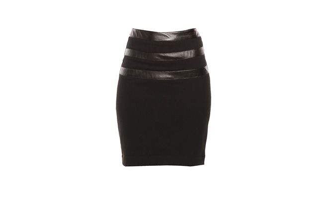 Pencil skirt Black Strips by RS244,50 in Lorane