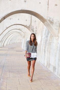 """Foto: Reprodução / <a href=""""http://seamsforadesire.com/stripes-and-sequins/"""" target=""""_blank"""">Seams for a desire</a>"""