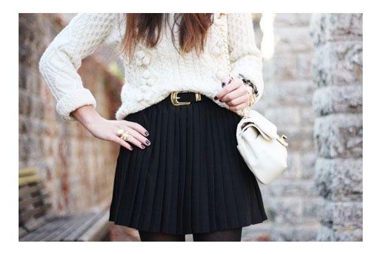 1 Como usar saia no inverno