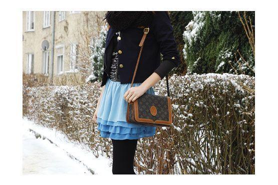 4 Como usar saia no inverno