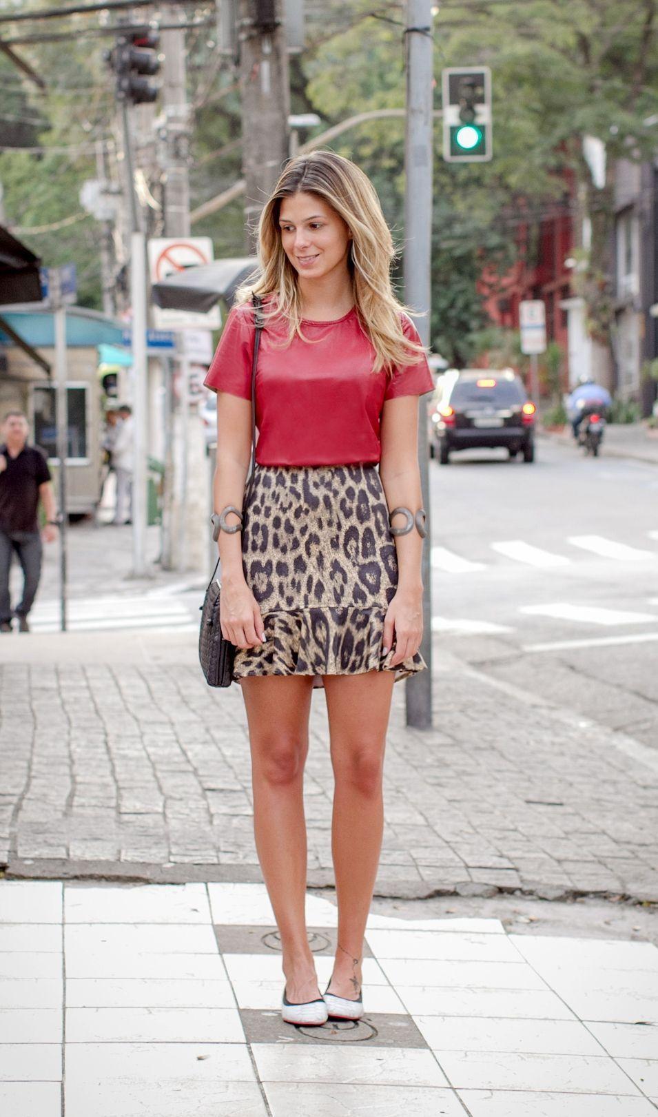 """Foto: Reprodução / <a href=""""http://annafasano.com.br/meu-look-vermelho-onca/"""" target=""""_blank"""">Anna Fasano</a>"""