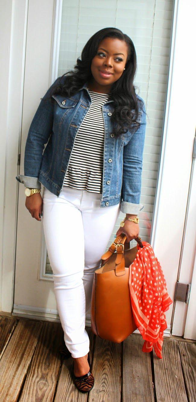 """Foto: Reprodução / <a href=""""http://www.najadiamond.com/2014/03/springtime-staple-series-jean-jacket.html"""" target=""""_blank"""">Naja Diamond</a>"""