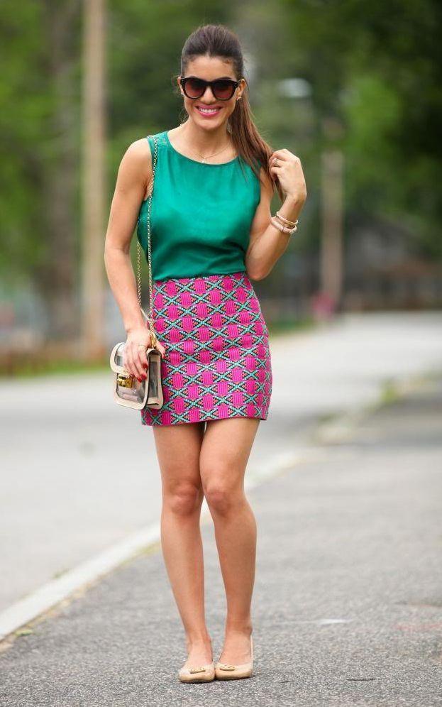"""Foto: Reprodução / <a href=""""http://camilacoelho.com/2013/06/03/meu-look-pink-green/"""" target=""""_blank"""">Camila Coelho</a>"""