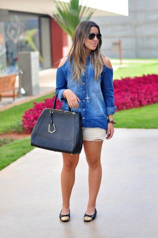 """Foto: Reprodução / <a href=""""http://www.dasguimaraes.com.br/2012/11/look-jeans-jeans-2/"""" target=""""_blank"""">Das Guimarães</a>"""