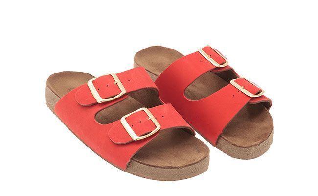 Red Birken My Shoes oleh R $ 179 dalam OQVestir
