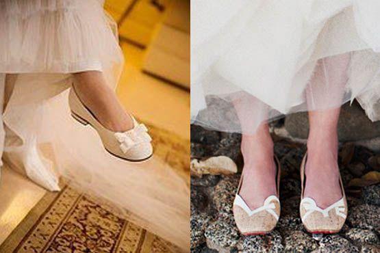 sapato baixo noivas 1 Sapatos baixos para noivas