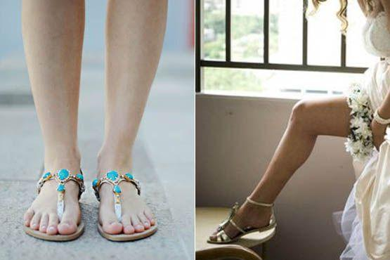 sapato baixo noivas 10 Sapatos baixos para noivas