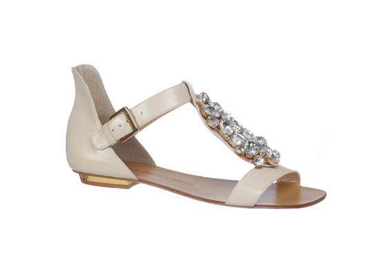 sapato baixo noivas 13 Sapatos baixos para noivas