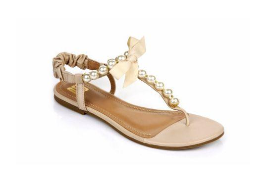 sapato baixo noivas 9 Sapatos baixos para noivas