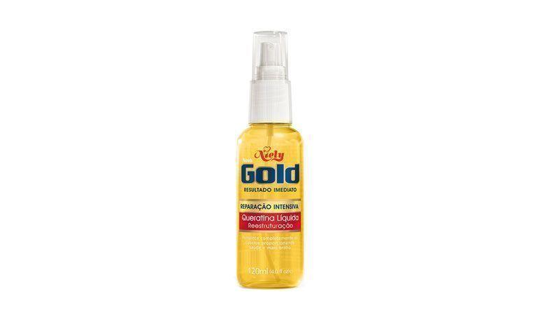 "Queratina líquida Niely Gold por R$9,72 na <a href=""http://www.ultrafarma.com.br/produto/detalhes-8825/queratina_l%C3%8Dquida_niely_gold_frasco_com_120_ml.html"" target=""blank_"">Ultrafarma</a>"