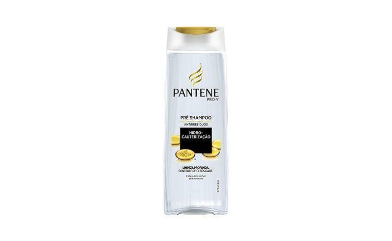 "Xampu antirresíduos Pantene por R$19,99 na <a href=""http://www.americanas.com.br/produto/122275352/pre-shampoo-400ml-hidro-cauterizacao-pantene"" target=""blank_"">Americanas</a>"