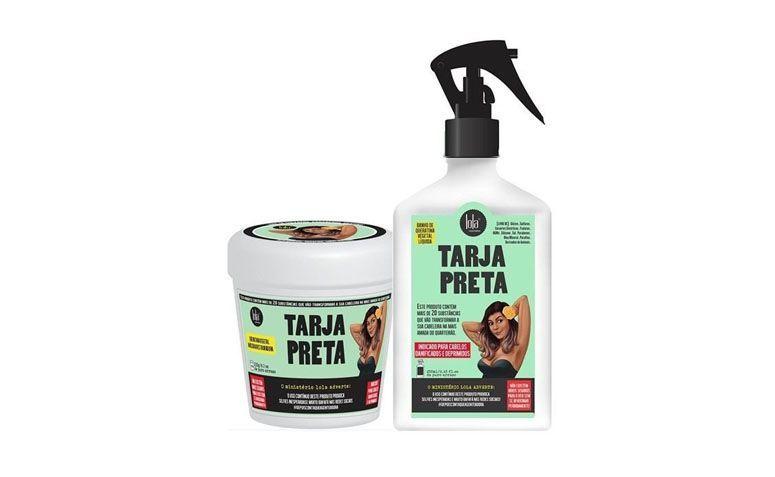 """Kit queratina líquida + máscara restauradora Lola Cosmetics por R$64,00 na <a href=""""http://www.icabelos.com.br/lola-cosmetics-kit-tarja-preta-queratina-liquida-mascara-restauradora"""" target=""""blank_"""">Lola Cosmetics</a>"""