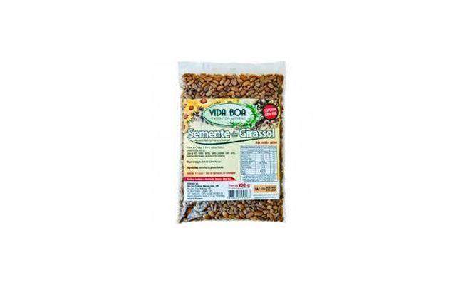 """Semente de Girassol Vida Boa por R$3,95 no <a href=""""http://www.emporiumalimente.com.br/produto/853/95861/semente-de-girassol-100g---vida-boa.aspx"""" target=""""blank_"""">Emporium Alimente</a>"""