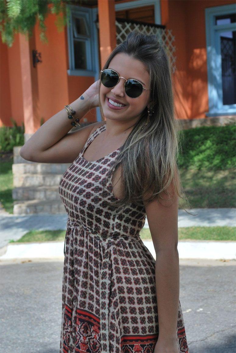 """Foto: Reprodução / <a href=""""http://bloglosalgado.com.br/look-vestido-romantico-2/"""" target=""""_blank"""">Blog da Lô Salgado</a>"""