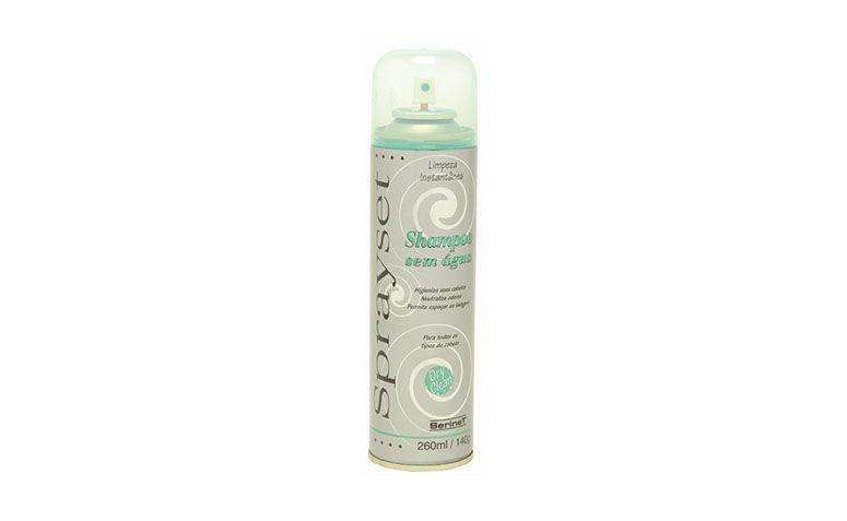 """Shampoo seco SpraySet por R$26,25 na <a href=""""http://www.netfarma.com.br/produto/28165/shampoo-seco-sprayset-dry-clean"""" target=""""blank_"""">Netfarma</a>"""