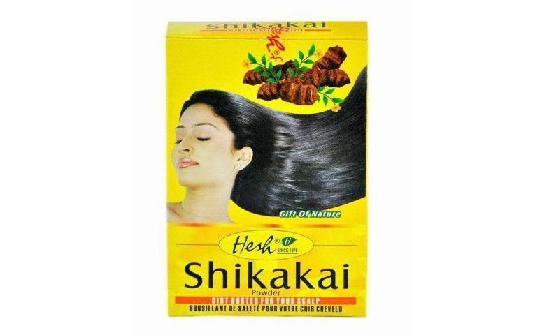 "Shikakai Hesh por US$ 6,43 no <a href=""http://www.ebay.com/itm/Hesh-HERBAL-SHIKAKAI-Powder-Hair-Cleanser-Soap-Free-Scalp-Remedy-Shiny-Long-/281164035188?pt=LH_DefaultDomain_0&hash=item4176aeb474"" target=""blank_"">E-Bay</a>"