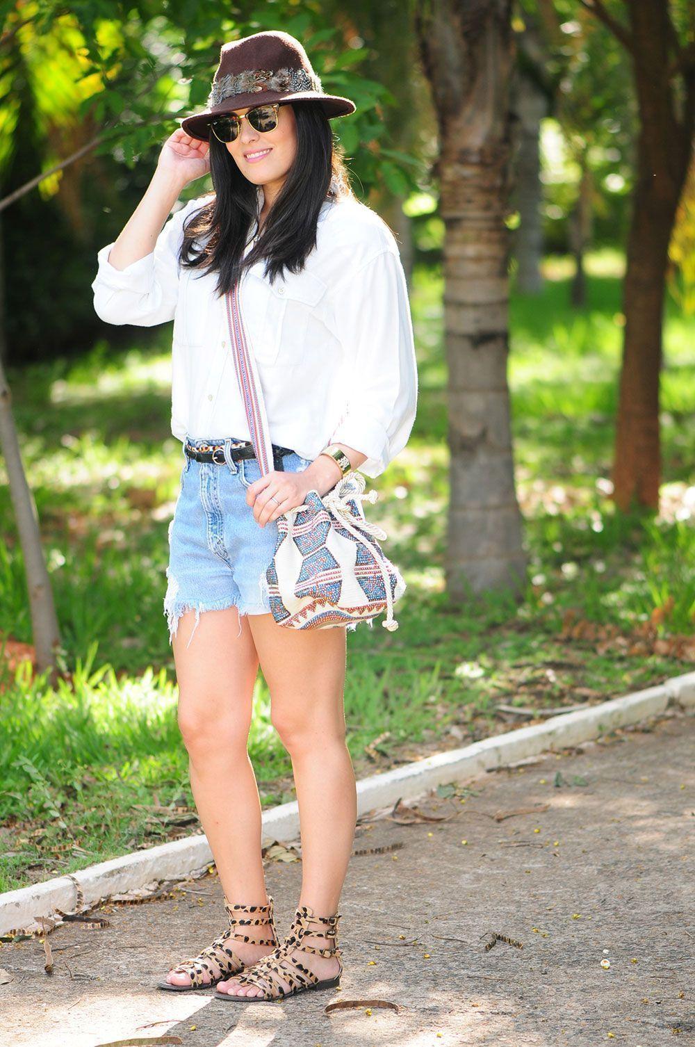 """Foto: Reprodução / <a href=""""http://www.blogdamariah.com.br/index.php/2014/02/look-do-dia-jeans-com-jeans/"""" target=""""_blank"""">Blog da Mariah</a>"""