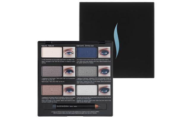 Bayangan Pro Pelajaran Palette Blue Eyes oleh R $ 149 di Sephora