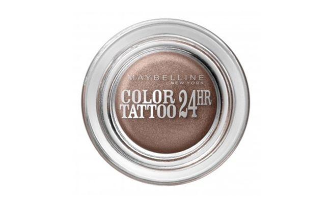 "Sombra  Maybelline Bronze por R$26,90 na <a href=""http://www.sepha.com.br/maquiagem-sombra-color-tattoo-24h-maybelline-20608.html"" target=""blank_"">Sepha</a>"