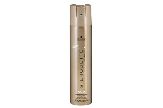 Silhouette Gold Strong Hold Hairspray - Schwarzkopf