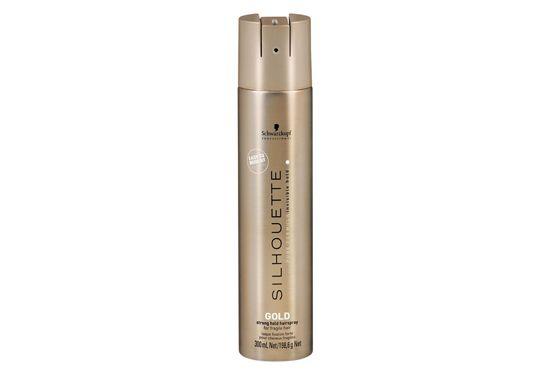 Spray com fixação forte para cabelos maduros e frágeis