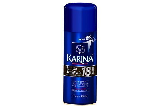 Spray com fixação extra forte por 18 horas