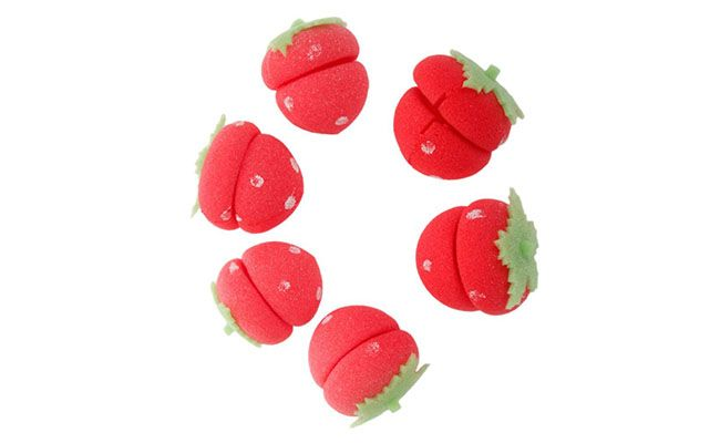 "Kit com 12 unidades R$ 10,20 na <a href=""http://www.amazon.com/Sponges-Rollers-Strawberry-Sponge-Curlers/dp/B00LP6QR0A"" target=""blank_"">Amazon</a>"
