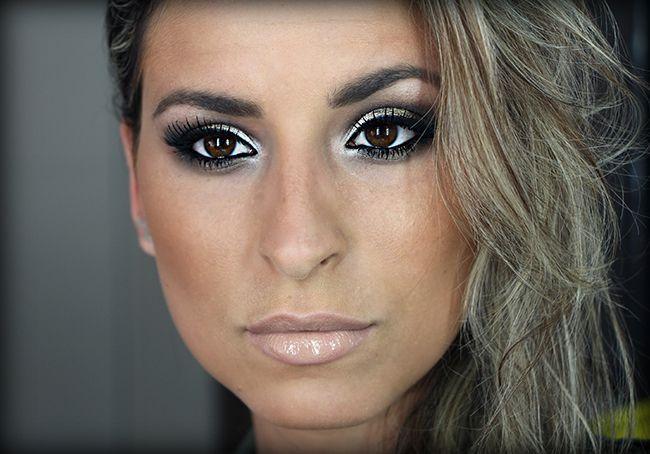 """Foto: Reprodução / <a href=""""http://www.rakaminelliblog.com.br/maquiagem-baphonica-com-produtos-acessiveis/"""" target=""""_blank"""">Raka Minelli</a>"""