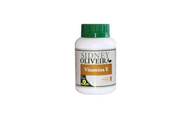 Vitamin E Sidney Oliveira for R $ 9,99 i øvelsene